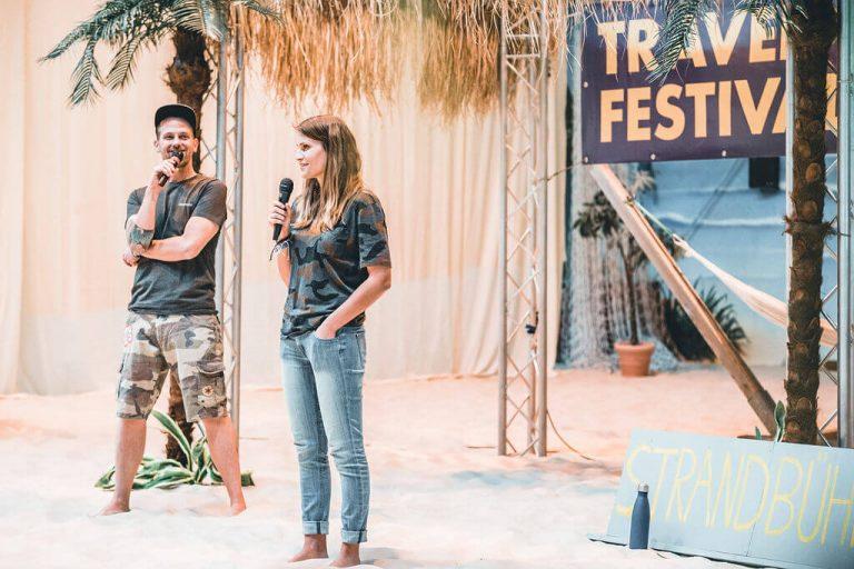 Ozeankind als Speaker auf dem Travel Festival