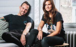 Marina und Micha von Ozeankind E.V. als Aussteller auf dem 4. Travel Festival in Witten