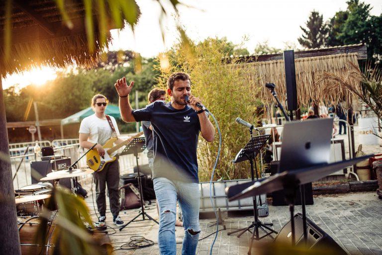 Live Musik beim Travel Festival in Witten