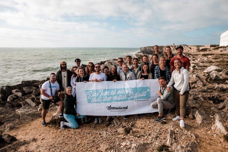 Nomadweek als Aussteller auf dem Travel Festival in Witten