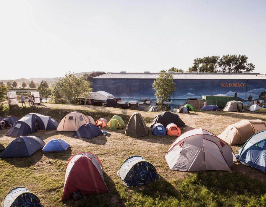 Infos zum Camping auf dem Travel Festival in Witten
