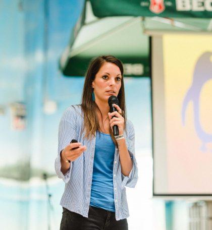 Laura Link über das allein reisen als Frau auf dem 2. Travel Festival