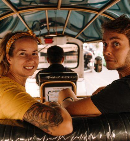 Maren und Löh vom Reiseblog Lass Mal Los auf dem 4. Travel Festival in Witten